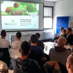 Unternehmensgründung hautnah – Die Carl-Benz-Schule zu Besuch bei tech-solute