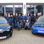 Hochvolt-Kurse für Mitarbeiter des KIT, Harman Becker und Staiger Nutzfahrzeuge