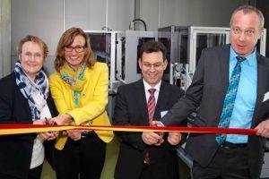 Feierliche Eröffnung der Lernfabrik 4.0