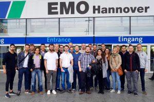 Besuch auf der EMO vom 19.09.-21.09.2017