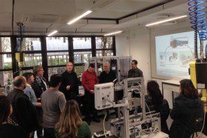Delegation aus Brasilien besucht die Lernfabrik