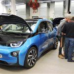 Schulinterne Fortbildung zu unserem Spenden-BMW i3