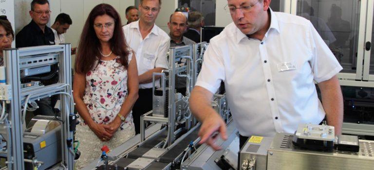 Lernfabrik 4.0 – Praktische Anwendungsbeispiele der vernetzten Produktion