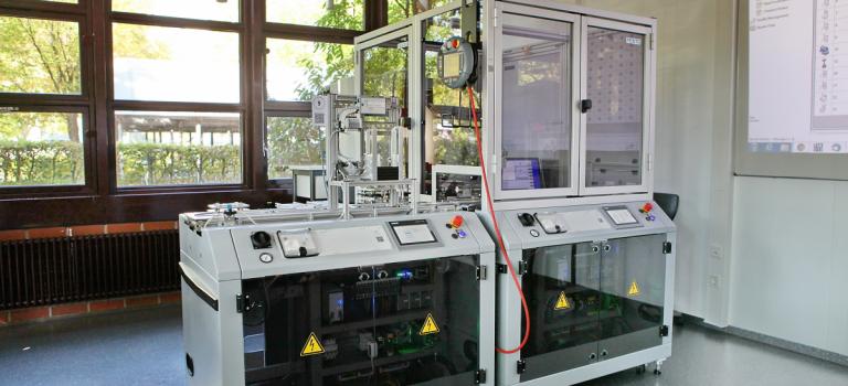 Industrie 4.0 – ein Highlight des Besuchs der AGBR