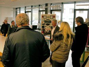 Norweger auf Studienreise in der Carl-Benz-Schule