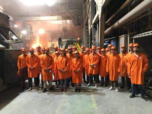 Besuch des Badischen Stahlwerks Kehl