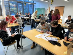 """Projekt """"Smarte Kleidung kann mehr"""" der 1BFMF1"""