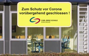 Corona-Update der Carl-Benz-Schule