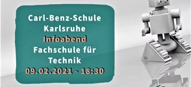 Online-Infoabend der Fachschule für Technik am 09.02.2021